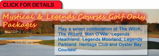 Mystical and Legends Golf Package